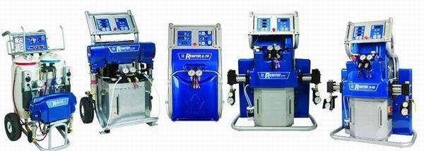 Аппараты Reactor для нанесения полиуретана и полимочевины